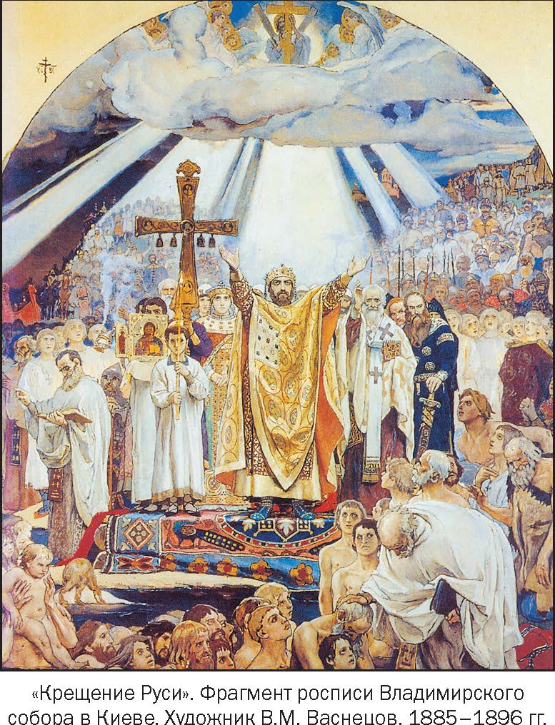 Фото крещение на руси